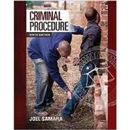 Criminal Procedure by Samaha, Joel, 9781305263338