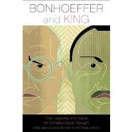 Bonhoeffer and King by Jenkins, Willis, 9780800663339