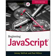 Beginning Javascript by Mcpeak, Jeremy; Wilton, Paul, 9781118903339