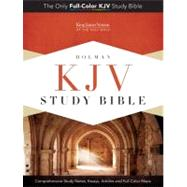 KJV Study Bible, Mantova Black LeatherTouch by Holman Bible Staff, 9781433603341