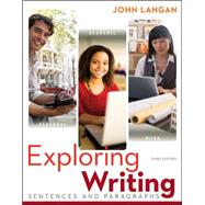 Exploring Writing: Sentences and Paragraphs by Langan, John, 9780073533346