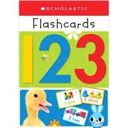 Write and Wipe Flashcards: 123 (Scholastic Early Learners) by Scholastic, 9780545903349
