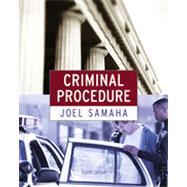 Criminal Procedure by Samaha, Joel, 9780495913351