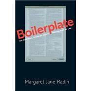 Boilerplate by Radin, Margaret Jane, 9780691163352