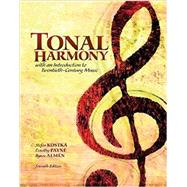 Tonal Harmony with Workbook by Kostka, Stefan; Payne, Dorothy, 9781259663352