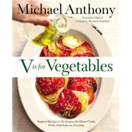 V Is for Vegetables by Anthony, Michael; Kalins, Dorothy, 9780316373357