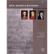 Bach, Mozart & Beethoven by Magrath, Jane, 9781470623357