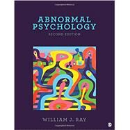 Abnormal Psychology by Ray, William J., 9781506333359