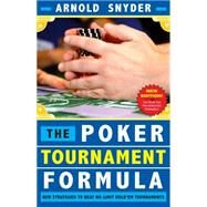 Poker Tournament Formula by Snyder, Arnold, 9781580423359