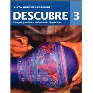 Descubre ©2014, Level 3 Bundle - Student Edition, Supersite Code, Cuaderno de Practica & Cuaderno de Actividades by VHL, 9781618573360