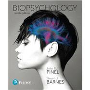Biopsychology Plus MyLab Psychology with Pearson eText -- Access Card Package by Pinel, John P. J.; Barnes, Steven, 9780134743363