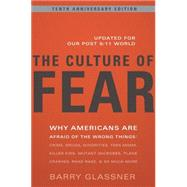 The Culture of Fear by Glassner, Barry, 9780465003365