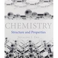 Chemistry Structure and Properties & Solutions Manual for Chemistry: Structure and Properties & Modified MasteringChemistry with Pearson eText -- ValuePack Access Card -- for Chemistry: Structure and Properties Package by Tro, Nivaldo J., 9780133943368