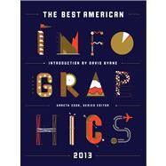 The Best American Infographics 2013 by Cook, Gareth; Byrne, David, 9780547973371