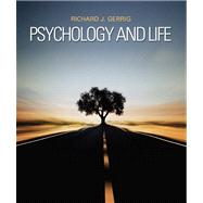 Psychology and Life Plus NEW MyPsychLab with eText -- Access Card Package by Gerrig, Richard J., 9780205843374