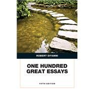 One Hundred Great Essays by DiYanni, Robert J., 9780134053387