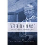 After Ten Years by Barnett, Victoria J., 9781506433387