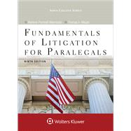 Fundamentals of Litigation for Paralegals by Maerowitz, Marlene Pontrelli; Mauet, Thomas A., 9781454873389