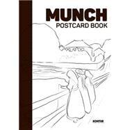 Munch Postcard Book by Brox, Niklas; Aamundsen, Martin Berdahl, 9788293053392
