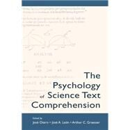 The Psychology of Science Text Comprehension by Otero,JosT, 9781138833401