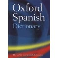 Oxford Spanish Dictionary by Oxford Dictionaries, 9780199543403
