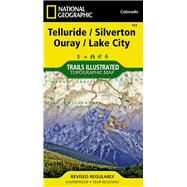 Telluride, Silverton, Ouray, Lake City Colorado, USA by National Geographic Maps, 9781566953405