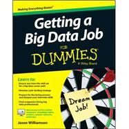 Getting a Big Data Job for Dummies by Williamson, Jason, 9781118903407