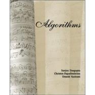 Algorithms by Dasgupta, Sanjoy; Papadimitriou, Christos; Vazirani, Umesh, 9780073523408