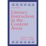 Literacy Instruction In The Content Areas 9780805843408U