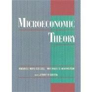 Microeconomic Theory by Mas-Colell, Andreu; Whinston, Michael D.; Green, Jerry R., 9780195073409