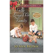 Her Longed-For Family by Brown, Jo Ann, 9780373283415