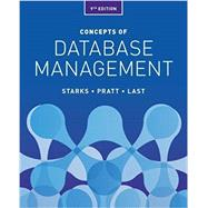 Concepts of Database Management by Starks, Joy L.; Pratt, Philip J.; Last, Mary Z., 9781337093422