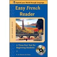 Easy French Reader w/CD-ROM A Three-Part Text for Beginning Students by de Roussy de Sales, R., 9780071603423