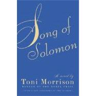 Song of Solomon by MORRISON, TONI, 9781400033423