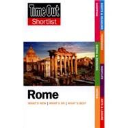 Time Out Shortlist Rome by Unknown, 9781846703423
