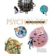 Exploring Psychology in Modules with Updates on DSM-5 by Myers, David G., 9781464163425