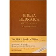 Biblia Hebraica Stuttgartensia: A Reader's Edition by Vance, Donald R.; Athas, George; Avrahami, Yael, 9781598563429