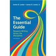 Essential Guide Research Writing by Lester, James D., Jr., 9780321853431