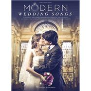 Modern Wedding Songs by Hal Leonard Corp., 9781495003431
