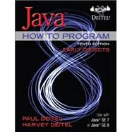 Java How to Program, Early Objects plus MyProgrammingLab with Pearson eText -- Access Card Package by Deitel, Paul; Deitel, Harvey, 9780133813432