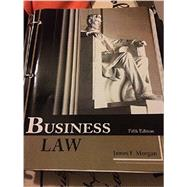 Business Law by Morgan, 9781627513432
