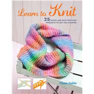 Learn to Knit by Goble, Fiona, 9781782493440
