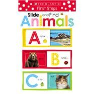 Slide and Find ABC Animals (Scholastic Early Learners: Slide and Find) by Unknown, 9780545903448