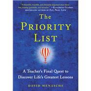 The Priority List A Teacher's Final Quest to Discover Life's Greatest Lessons by Menasche, David, 9781476743448