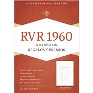 RVR 1960 Biblia para Regalos y Premios, blanco imitación piel by Unknown, 9781433613449