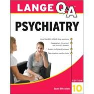 Lange Q&A Psychiatry, 10th Edition by Blitzstein, Sean, 9780071703451