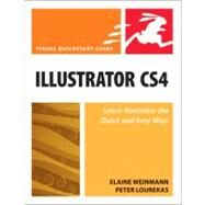 Illustrator CS4 for Windows and Macintosh: Visual Quickstart Guide by Weinmann, Elaine; Lourekas, Peter, 9780321563453