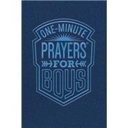 One-minute Prayers for Boys by Harvest House Publishers, 9780736973458