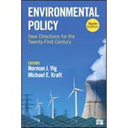 Environmental Policy by Vig, Norman J.; Kraft, Michael E., 9781506383460
