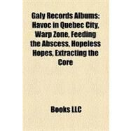 Galy Records Albums by , 9781158583461